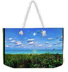 Moon Over Hollywood Weekender Tote Bag