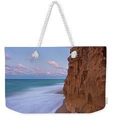 Moon Over Hutchinson Island Beach Weekender Tote Bag