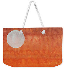 Moon Over Mojave Weekender Tote Bag