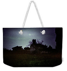 Moon Over Nice Weekender Tote Bag