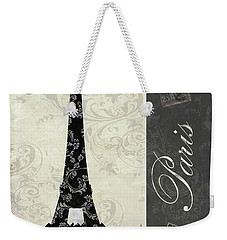 Moon Over Paris Postcard Weekender Tote Bag