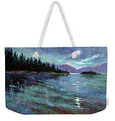 Moon Over Pend Orielle Weekender Tote Bag