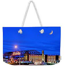 Moon Over Sands Weekender Tote Bag