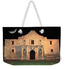 Moon Over The Alamo Weekender Tote Bag