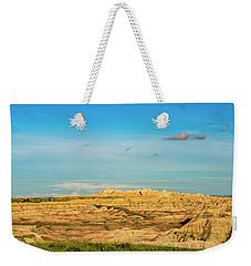 Moon Over The Badlands Weekender Tote Bag
