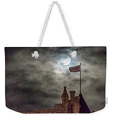 Moon Over The Bank Weekender Tote Bag