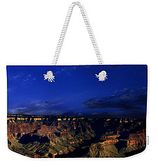 Moon Over The Canyon Weekender Tote Bag