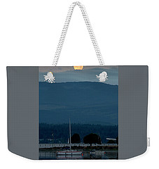 Moon Over The Spit Weekender Tote Bag