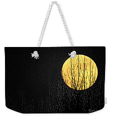 Moon Over The Trees Weekender Tote Bag