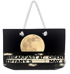 Moon Over Tiffany's Weekender Tote Bag
