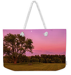 Moon Over Valley Forge Weekender Tote Bag by Rima Biswas