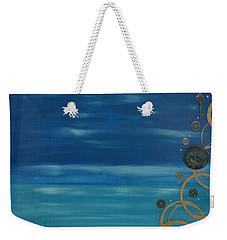 Moon Over Water Weekender Tote Bag