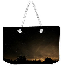 Moon Rise Weekender Tote Bag by Katie Wing Vigil