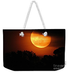 Moon Rise Weekender Tote Bag by Shelia Kempf
