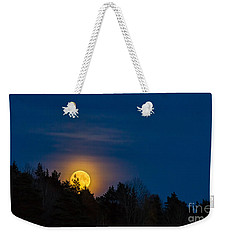 Moon Rise Weekender Tote Bag by Torbjorn Swenelius