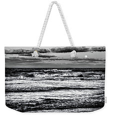 Weekender Tote Bag featuring the photograph Moon Rising  by Louis Ferreira