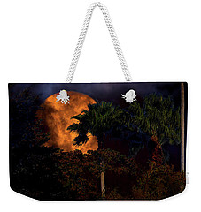 Weekender Tote Bag featuring the photograph Moon River by Mark Andrew Thomas