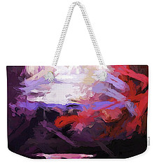Moon Sky Pink Sea Weekender Tote Bag