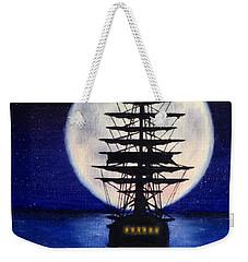 Moon Voyage Weekender Tote Bag