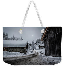 Weekender Tote Bag featuring the photograph Moon Walk- by JD Mims
