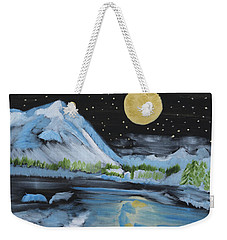 Moon Wishes Weekender Tote Bag
