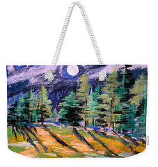 Moon With Venus Weekender Tote Bag