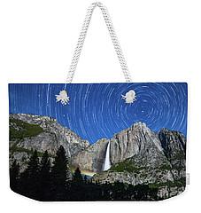 Moonbow And Startrails  Weekender Tote Bag