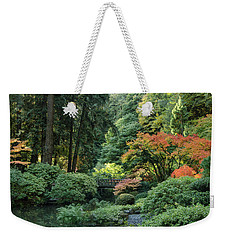 Moonbridge Autumn Serenade Weekender Tote Bag
