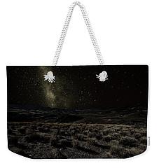 Moonlight And The Milky Way Weekender Tote Bag