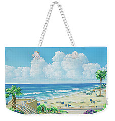 Moonlight Beach Weekender Tote Bag