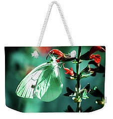 Moonlight Butterfly Weekender Tote Bag