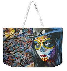 Moonlight Celebration Weekender Tote Bag