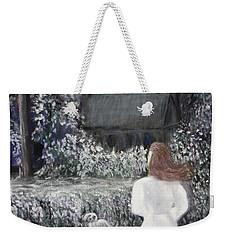 Moonlight Garden Weekender Tote Bag by Lyric Lucas