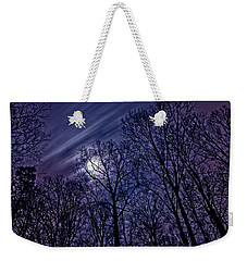 Moonlight Glow Weekender Tote Bag