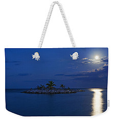 Moonlight Island Weekender Tote Bag