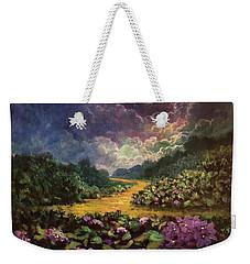 Moonlight Memories Weekender Tote Bag