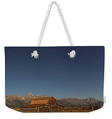 Moonlight On A Mormon Barn Weekender Tote Bag