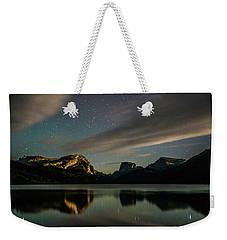 Moonlight On Green River Lake Weekender Tote Bag