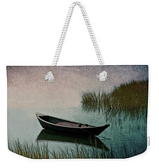 Weekender Tote Bag featuring the photograph Moonlight Paddle by Brooke T Ryan