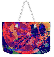 Moonlight Ravens Weekender Tote Bag
