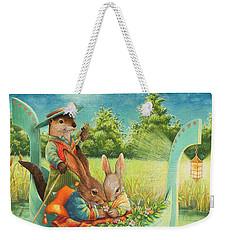 Moonlight Romance Weekender Tote Bag