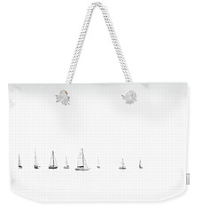 Moonlight Sail Weekender Tote Bag