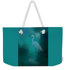 Weekender Tote Bag featuring the photograph Moonlight Serenade by Marvin Spates