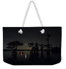 Moonlight Shadow Weekender Tote Bag