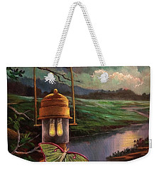 Moonlight, Silhouettes And Shadows Weekender Tote Bag