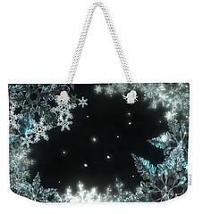 Moonlight Snow Burial Weekender Tote Bag