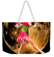 Moonlight Stroll Of A Fairy Weekender Tote Bag