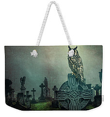 Weekender Tote Bag featuring the photograph Moonlight Vigil by Brian Tarr
