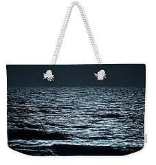 Moonlight Waves Weekender Tote Bag