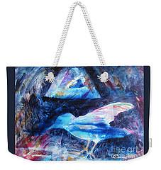 Moonlit Birds Weekender Tote Bag